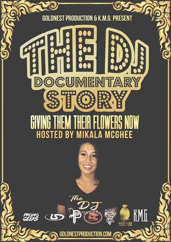 DJ Documentary Poster