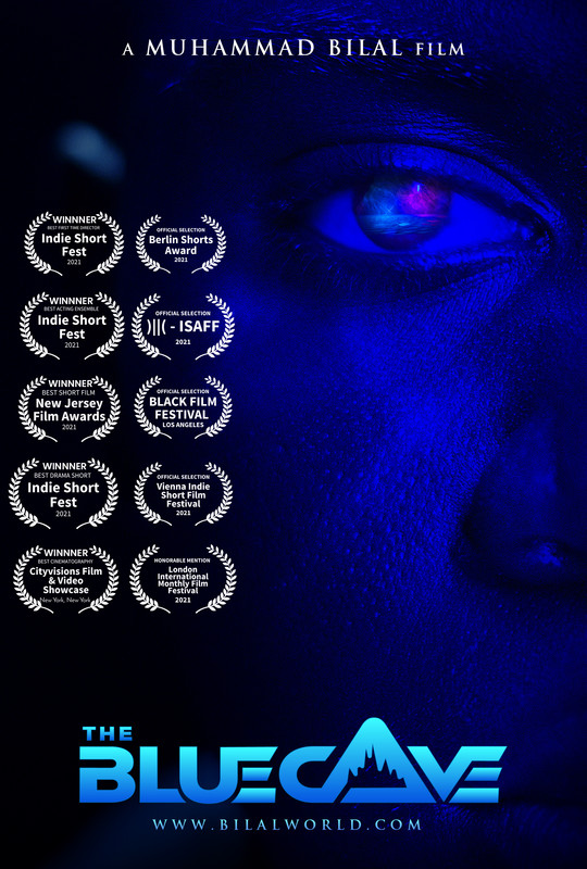 The Blue Cave-Poster